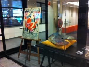 Kleine vitrine-expo 'Portret van Jan Sluijters', april-juli 2014, RKD - Nederlands instituut voor kunstgeschiedenis